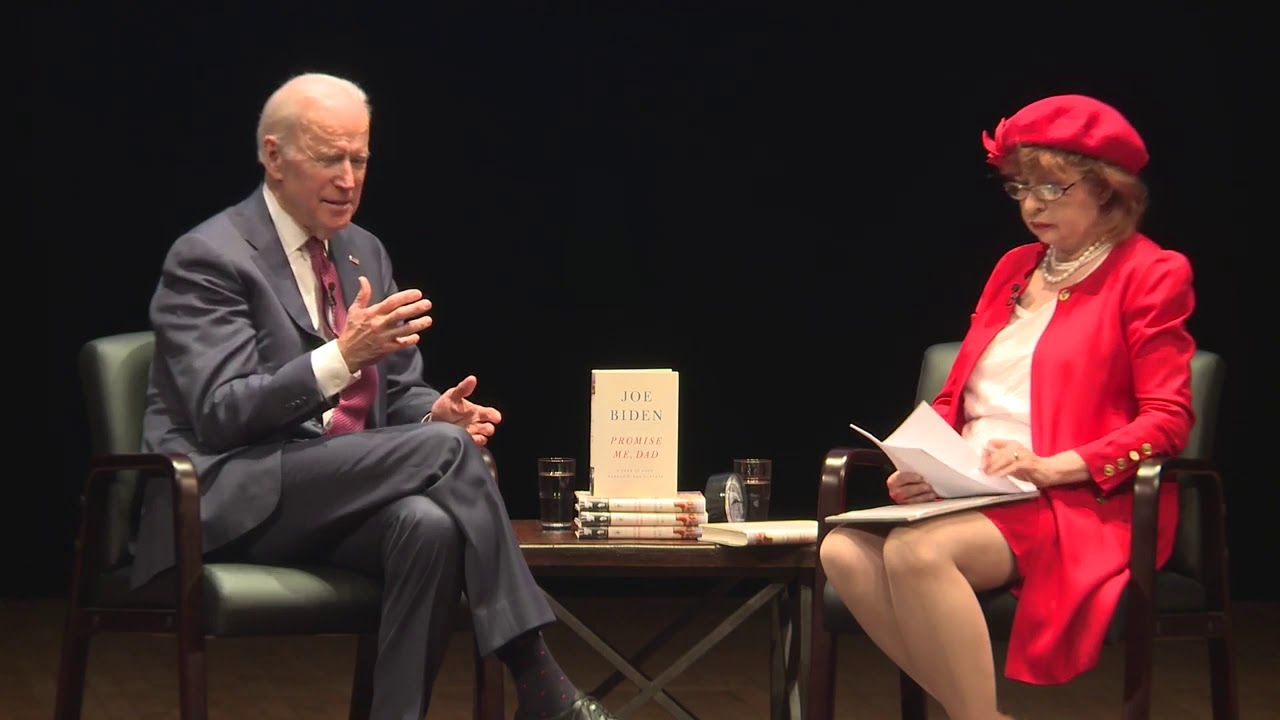 No Empathy Clip Of Joe Biden From An Interview With Patt Morrison Of The La Times Youtube