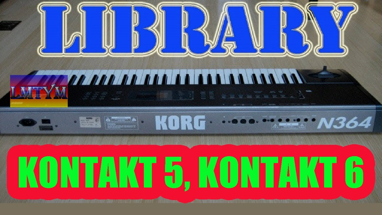KORG N364 - Samples Kontakt 5 - The best library