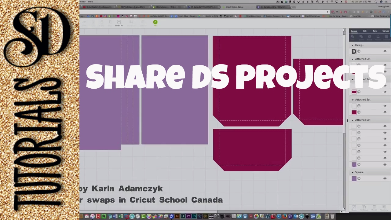How to share Cricut Design Space projects with others