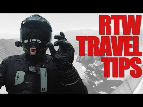 Travel Around the World Tips - A Motovlogger's Guide