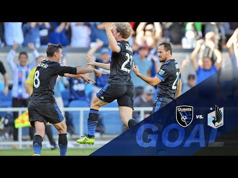 GOAL: Marco Urena sends San Jose to the playoffs