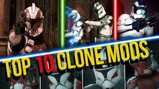 Top 10 Clone Mods for EA Battlefront 2