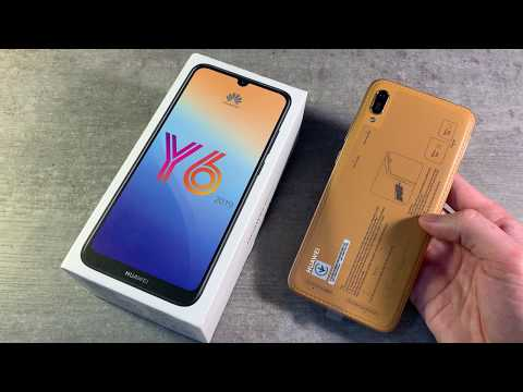 Обзор Huawei Y6 2019 (MRD-LX1)