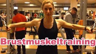 Brustmuskeltraining mit Veronica Gerritzen - Brust Training
