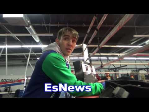 Boxing Star Michael Conlan On Friendship With Conor McGregor EsNews Boxing