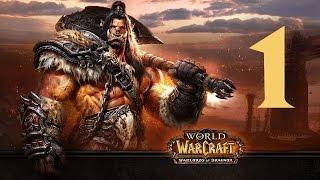 World of Warcraft эпичное прохождение ДРЕНОРА #1 (Через Темный портал)