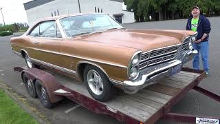 1967 Ford Galaxie 500 - Un-Restored, Original Condition Survivor