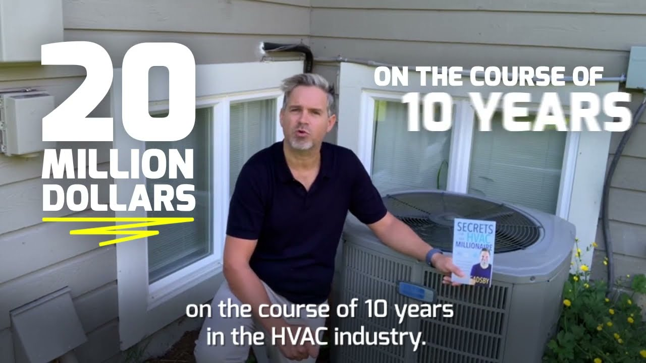 Download FREE EBOOK: Secrets of an HVAC Millionaire