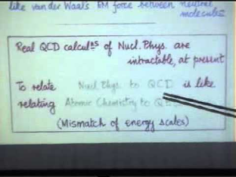 Particle Physics, Alan Martin   Lecture 2 of 4