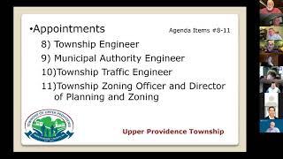 January 4 2021 Upper Providence BOS