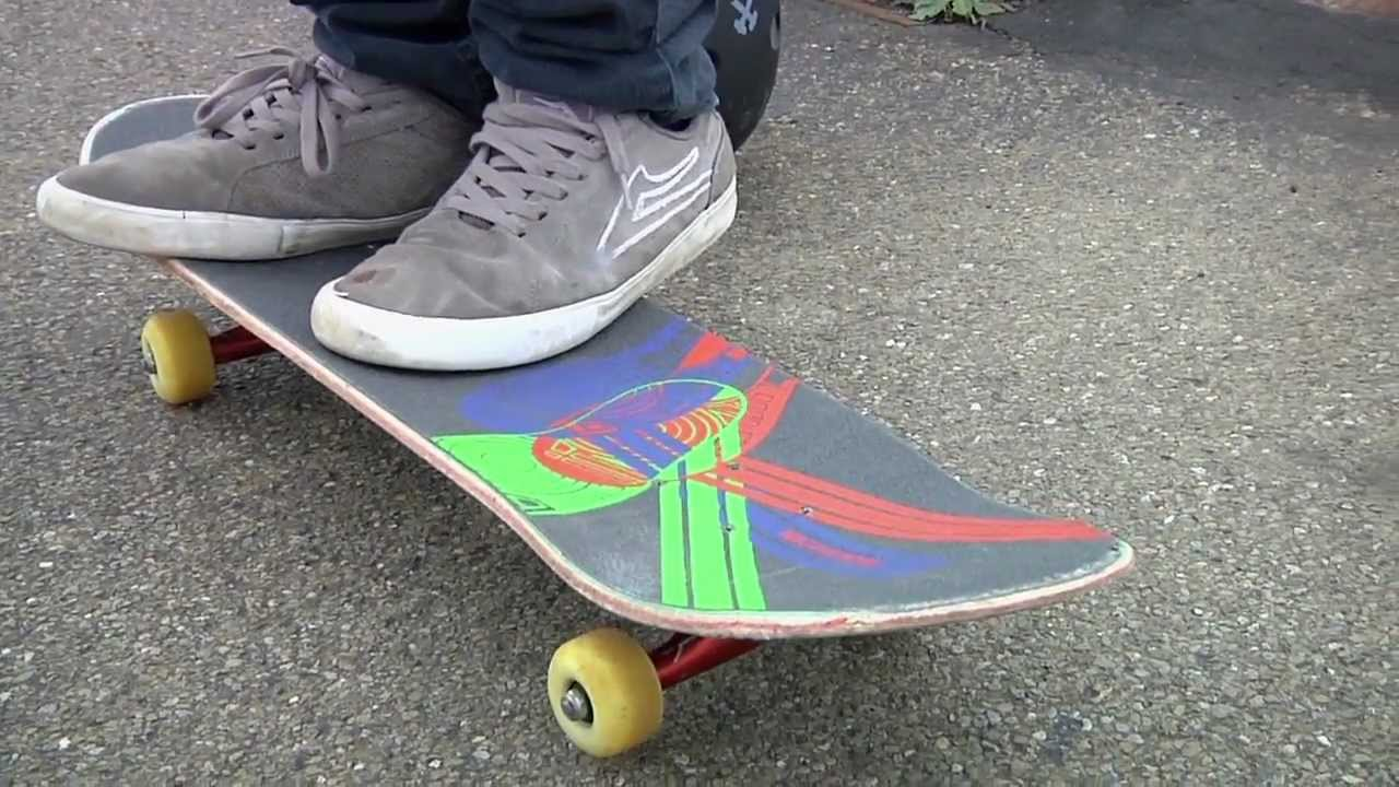 Trick Grip: How To Kickflip On Your Skateboard - YouTube