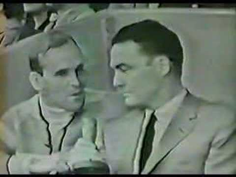 Dick Button and Bud Palmer - Post 1961 Nationals