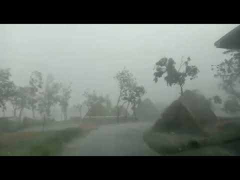 CYCLONE Amphan VIDEO तेज हवाएं और बारिश/ODISHA में ତୁଫାନ