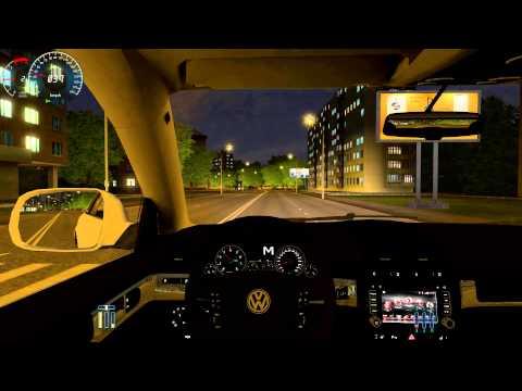 City Car Driving 1.3.3 VW Touareg r50 acceleration SPEED