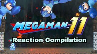 Mega Man 11 - Announcement Reveal Trailer - Reaction Compilation