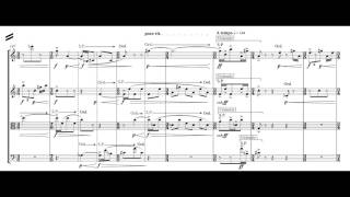 Koji Takahashi -  Black clock for string quartet (LIVE recording)