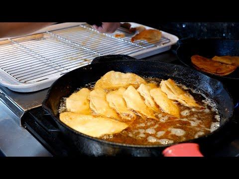 Golden Crispy Deep Fried Potato TACOS   Tacos Dorados De Papa