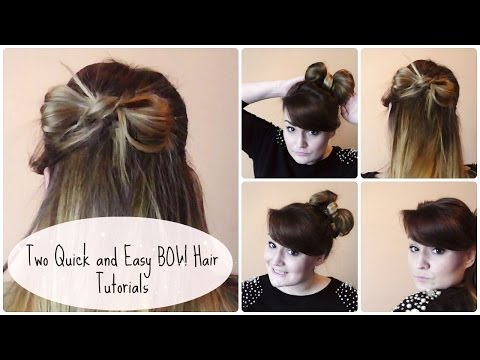 two-easy-and-cute-bow-hair-tutorials!