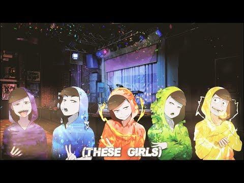 Nightcore - These Girls (Switching Vocals)