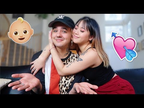WE'RE GOING TO HAVE A BABY!