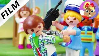 Playmobil Film polski: POLICJA NA BOISKU SZKOLNYM-Hania surowa dla reszty uczniów | Serial Playmobil