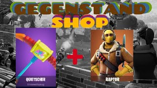 Raptor and Quitscher Hoe back 👍❌daily OBJECT-SHOP Fortnite Battle Royal