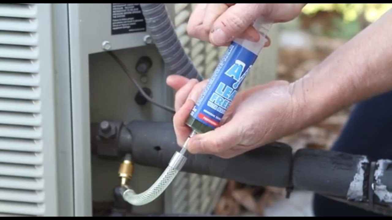 HVACR Repair Is Easy With A/C Leak Freeze