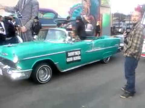 Danny 'Machete' Trejo as Grand Marshal in Pacoima's 43rd Annual Christmas Parade 2010