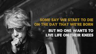 Bon Jovi- Lower The Flag (Lyric Video)