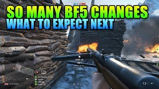 All Battlefield 5 Changes Coming After Beta