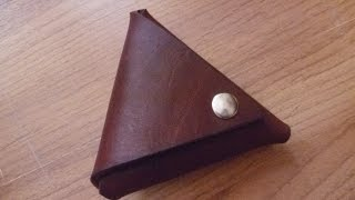 Make a Useful Leather Coin Purse - DIY Style - Guidecentral