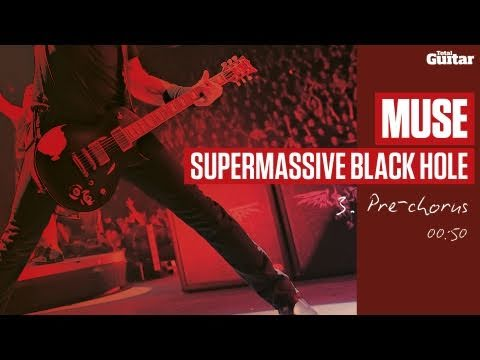 Guitar Lesson: Muse 'Supermassive Black Hole' -- Part Three -- Pre-Chorus (TG215)
