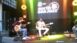 Marcus Miller meets Michael League (Snarky Puppy), Basstalk #1, July 13th, 2018, North Sea Jazz