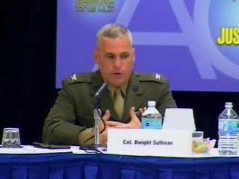 Colonel Sullivan on Abolishing Military Commissions