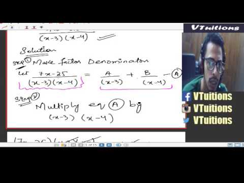 Chapter 6 Anti-Derivatives, Partial Fractions and their