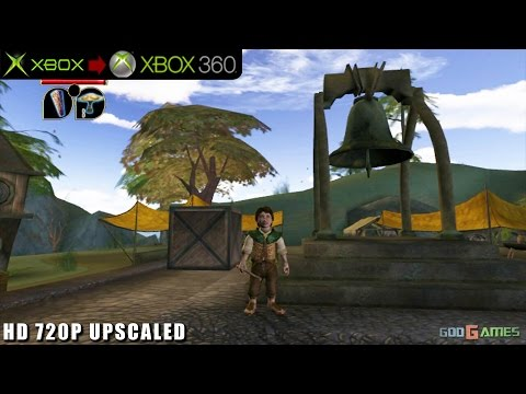 The Lord of the Rings: The Fellowship of the Ring - Gameplay Xbox HD 720P (Xbox to Xbox 360)