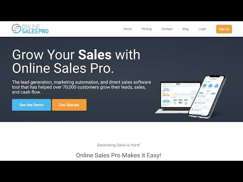 What is Online Sales Pro
