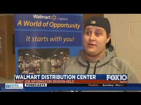 Walmart distribution center to bring jobs