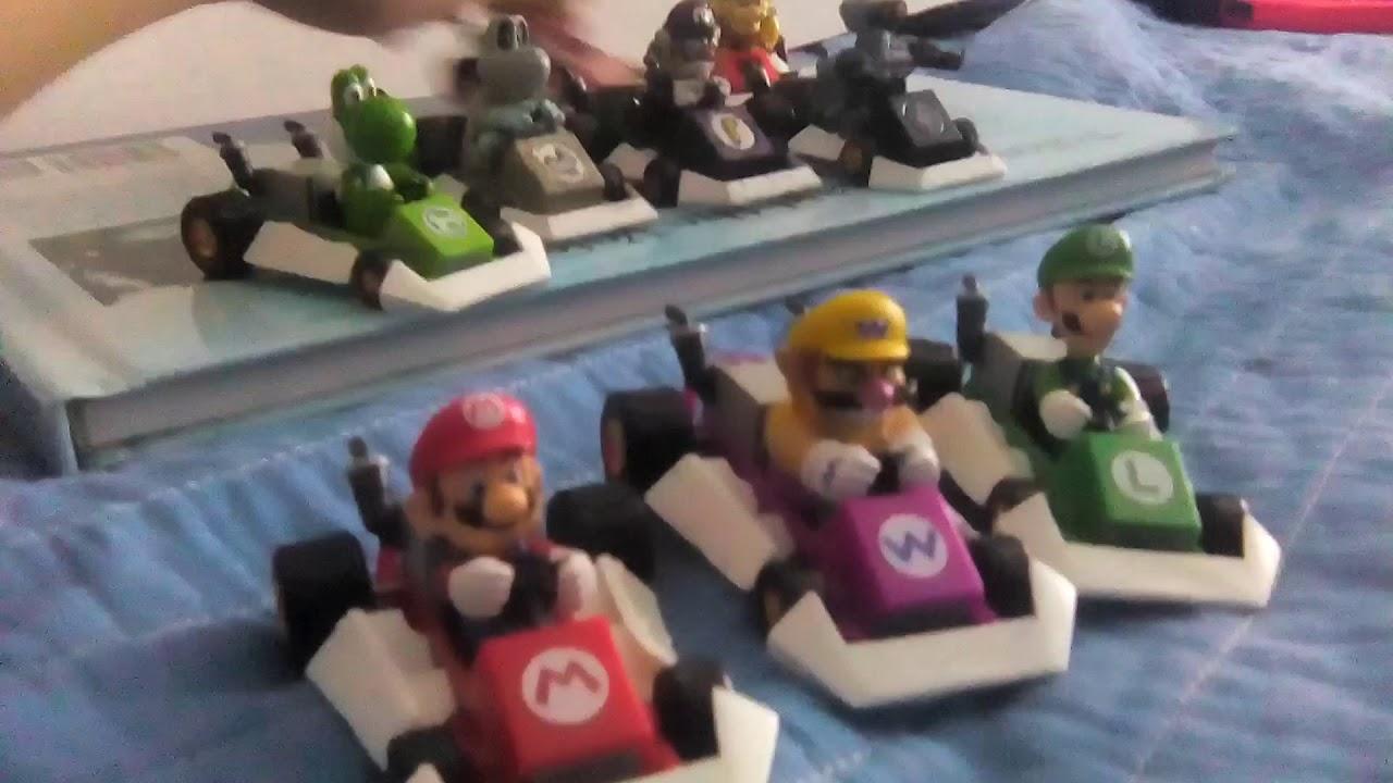 Furuta Mario Kart Ds Figures Custom Waluigi R O B And Dry