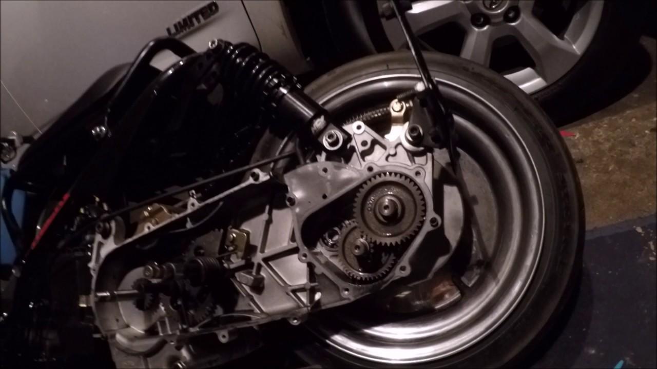 GY6 150cc Ruckus Gear Change tutorial