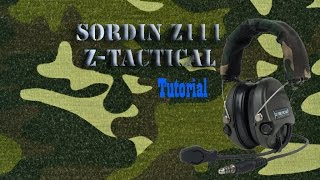 Sordin Z111 Z Tactical Tutorial-Review /Airsoft España / Unidad Fantasma [[SUB:ENG]]