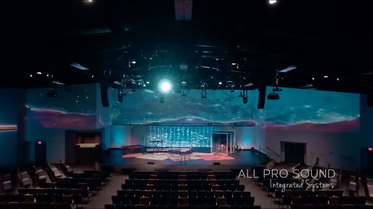 Broadmoor Baptist Church Worship Center, Shreveport, LA - YouTube