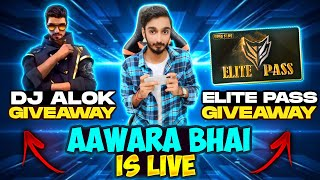 Free Fire Live Dj Alok And 50000 Diamonds Giveaways #Totalgaminglive​​​ #aawara007
