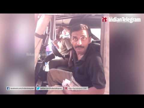 Drunken Kerala Police Man