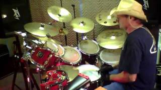 Long line of cars Drum cover by Martin Vaccaro