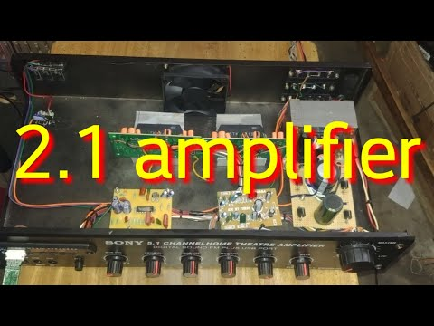 2.1 amplifier using