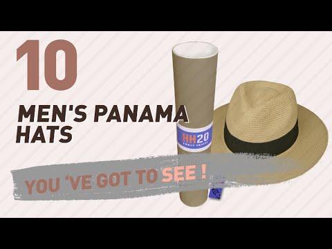 Top 10 Men'S Panama Hats // UK New & Popular 2017