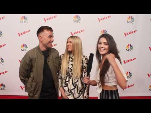 Team Gwen Stefani: Hunter Plake & Brennley Brown interview | The Voice