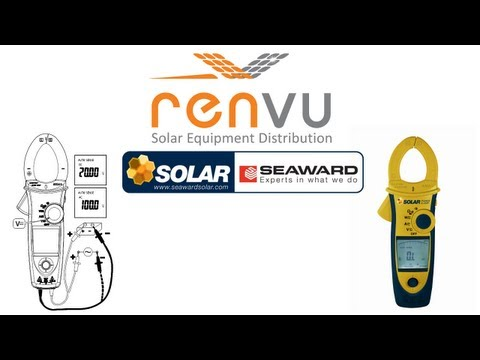 SEAWARD Solar Power Clamp Power Analyzer 396A961 | RENVU.com