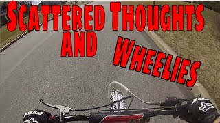 Scattered Thoughts and Wheelie Progression? | SSR 125 Pitbike Motovlog